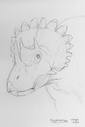 Dinovember - 16 - Regaliceratops