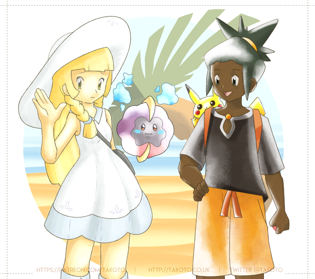 Lillie & Hau [ Early Gen Style ]