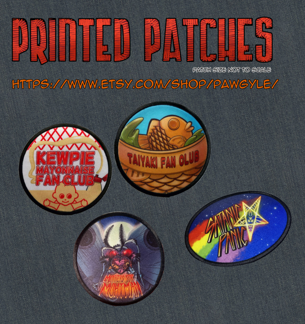 Printed Patches!