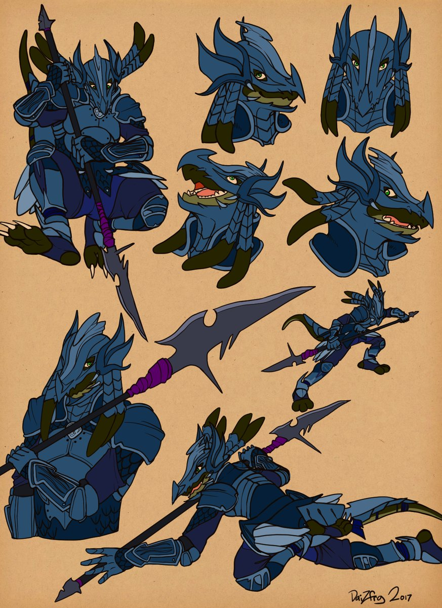 Character Study - Gavvar