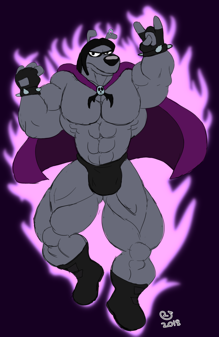 Buff Fantart Friday: Black Art Beagle