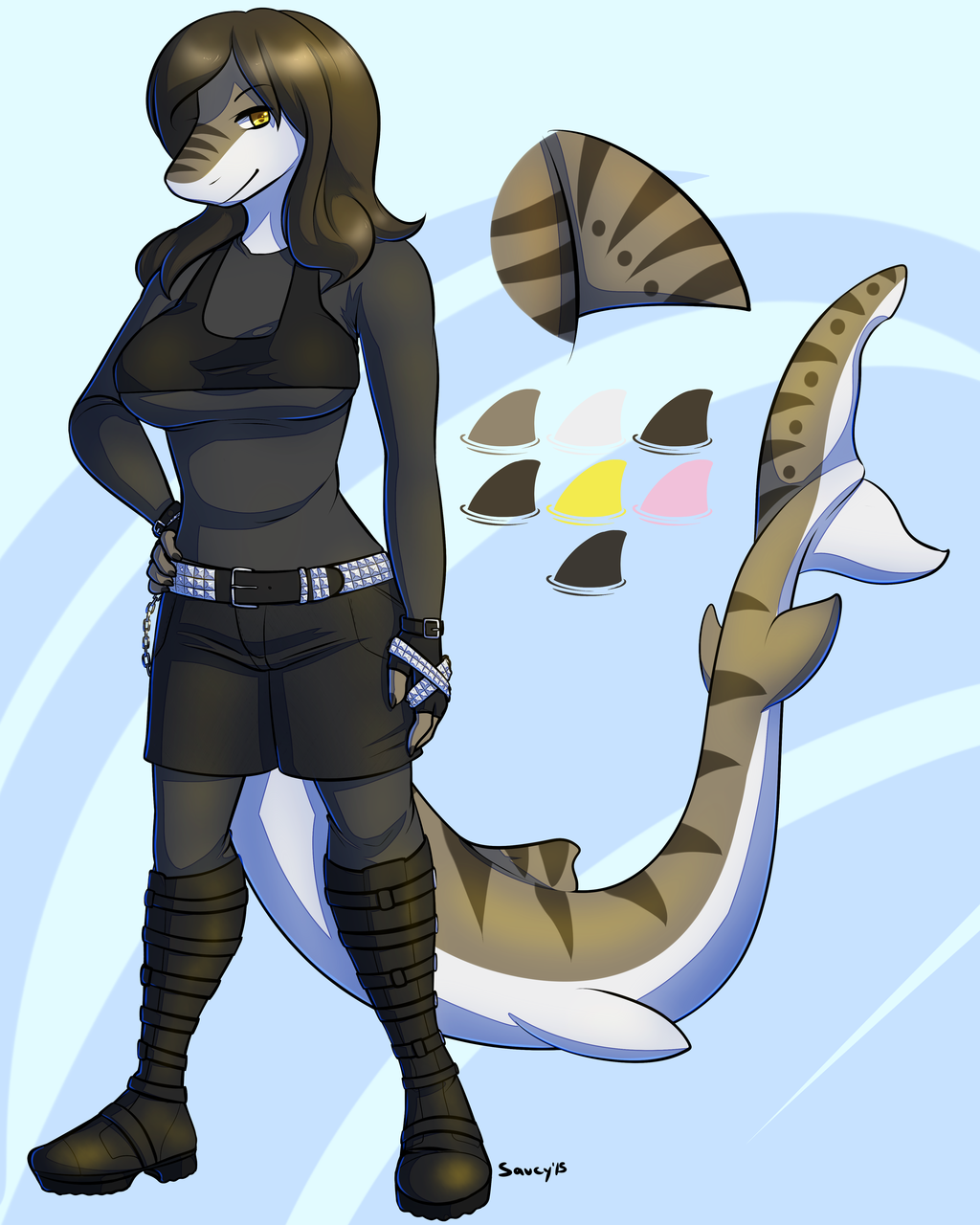 Most recent image: C: Kanesha Ref Sheet by Saucy
