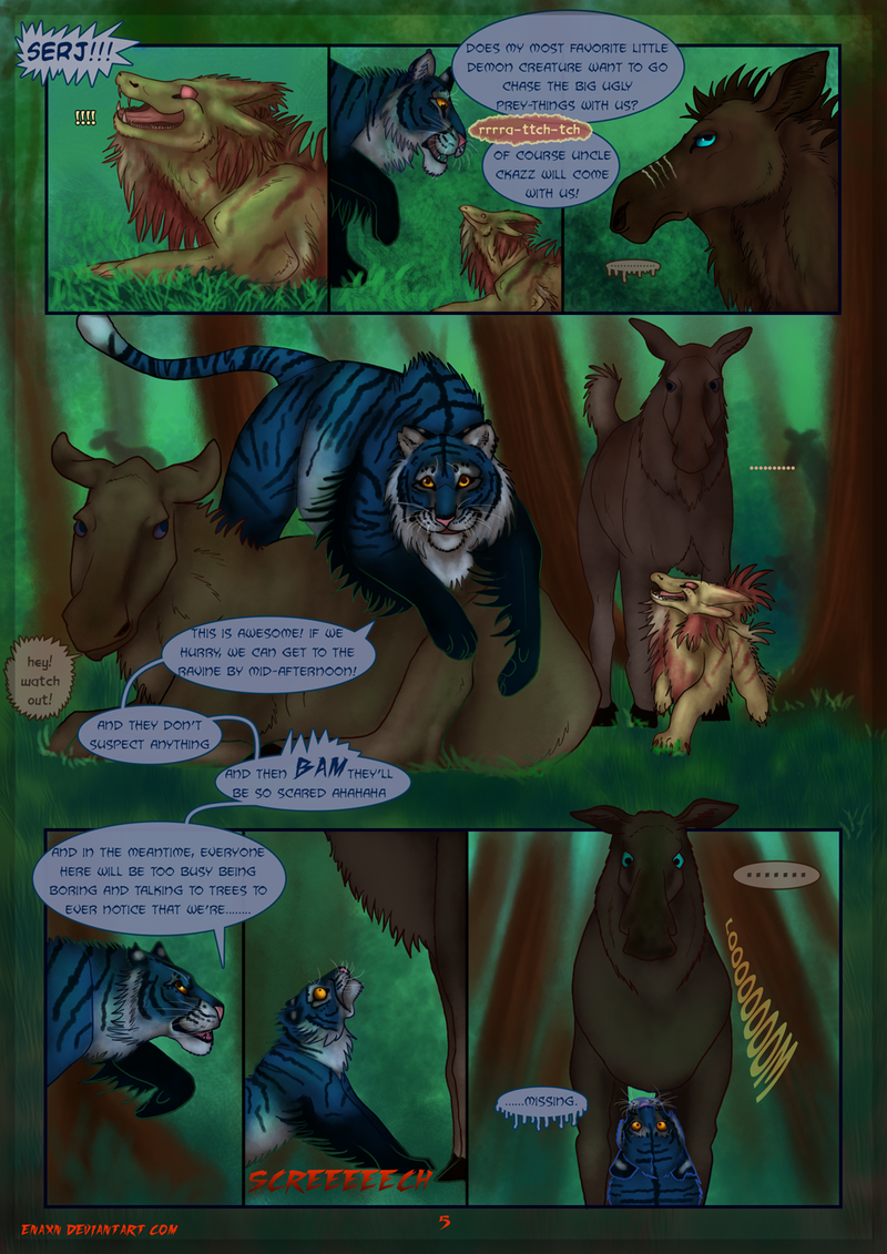 The Last Aysse: Page 5