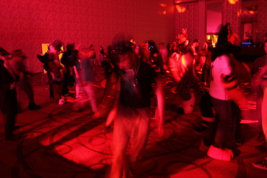 Texas Furry Fiesta 2016 - blurred dancers