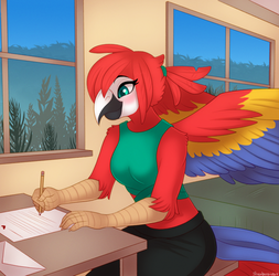 Love Letter - Commission
