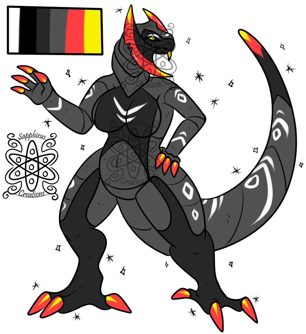 Shiny Female Haxorus +Design+ (SOLD)