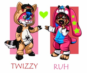 Twizzy and Ruh