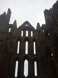 abby ruins  whitby