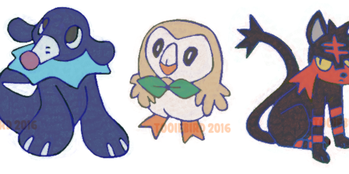 Pokemon Starters!