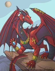 Egyptian Dragon for NekoAdderstein