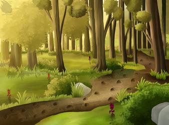 Daytime forest
