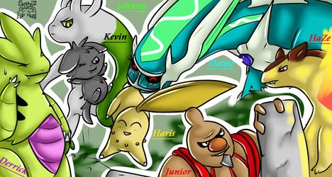 Team Pokemon +FB Banner Commission_