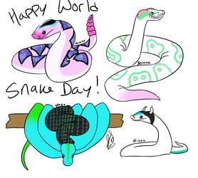 World Snake Day!