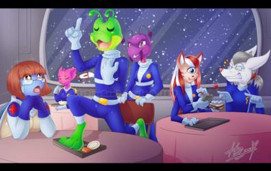 The Starfrog cantina