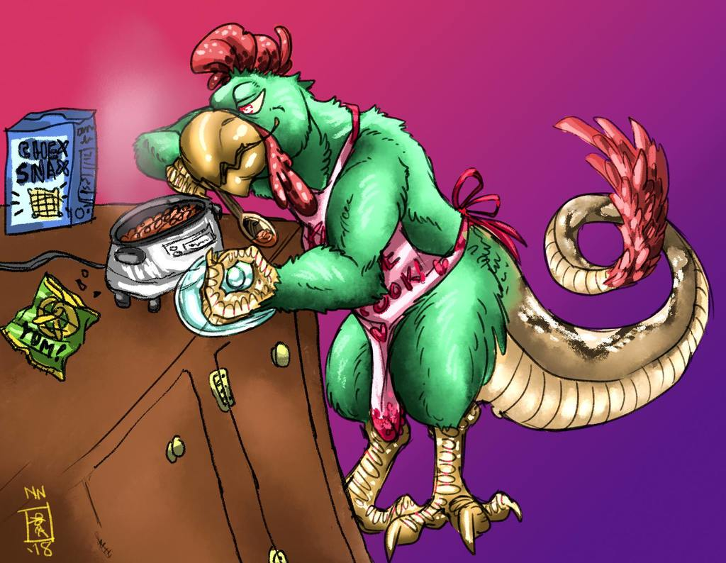 Most recent image: Chex Mix Basilisk