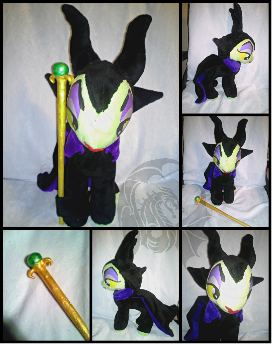 Maleficent Pony Plush