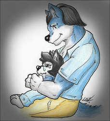 Dad Wolf