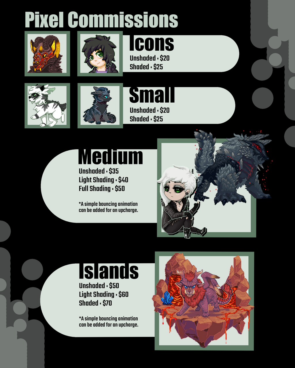 Commission Prices (OPEN)