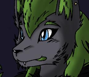 Pokemon RP Stuff - Loki artwork (Coloured)