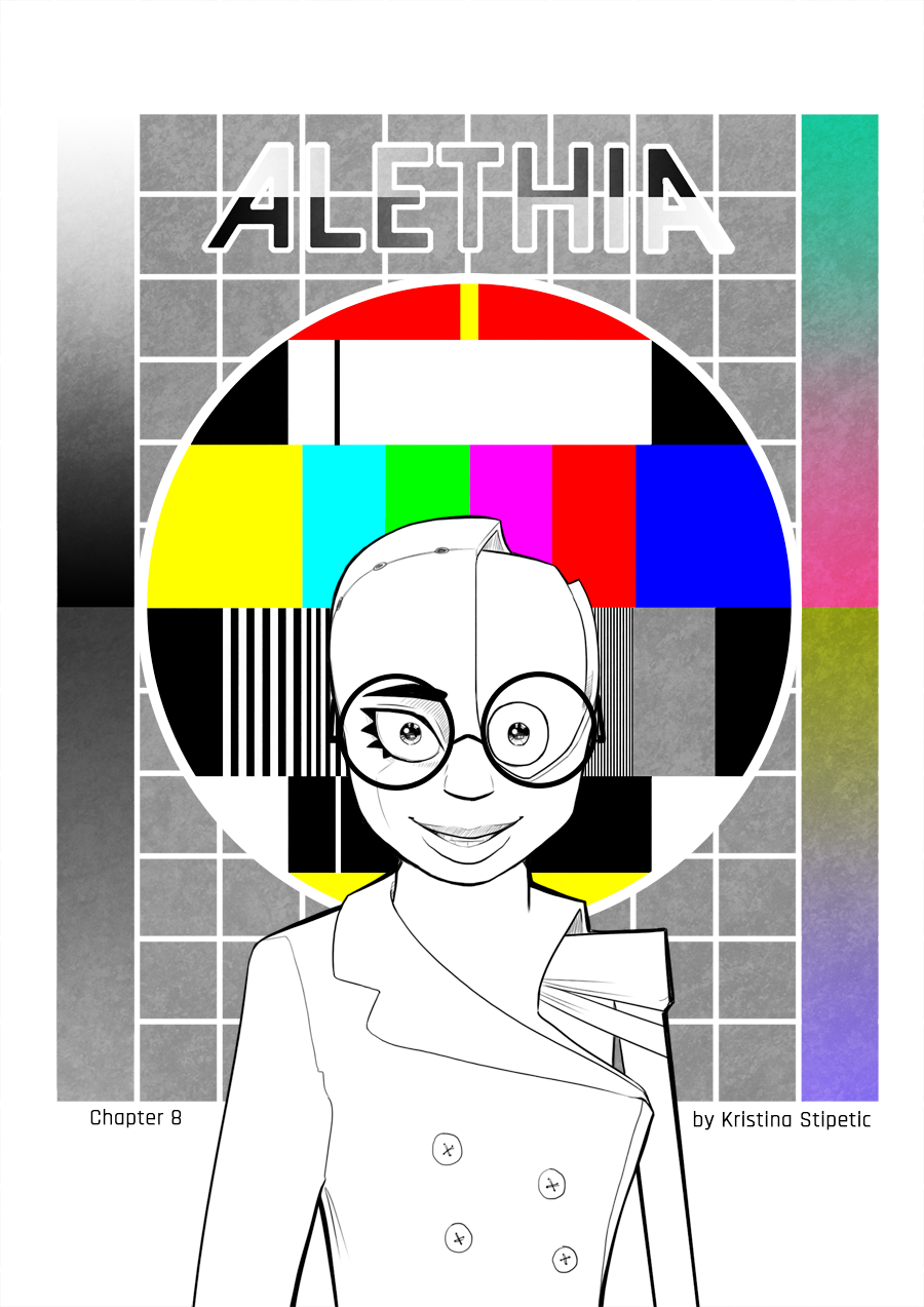 Most recent image: Alethia chapter 8 cover