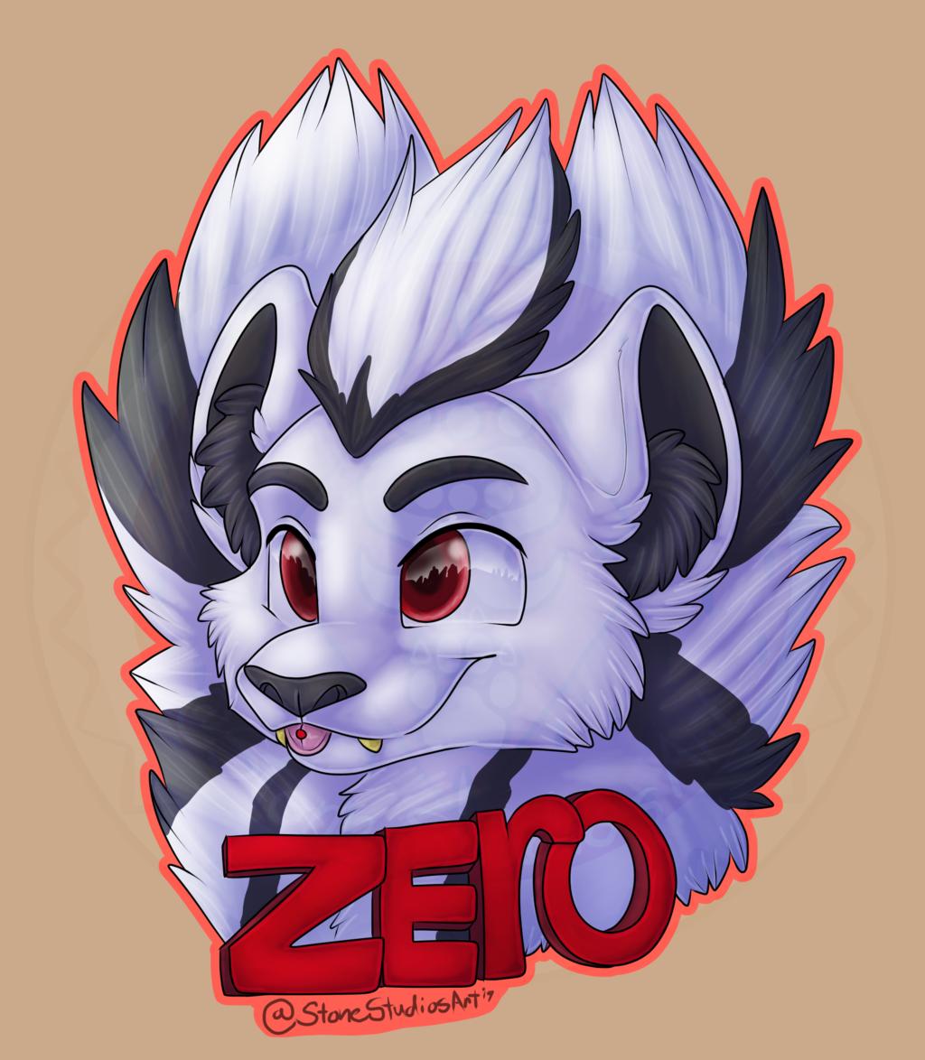 Zero Chibi headshot Commish