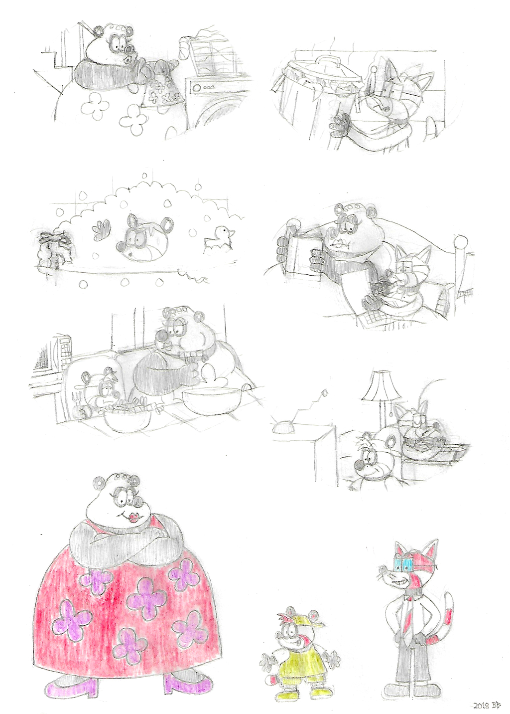 Featured image: Panda Family