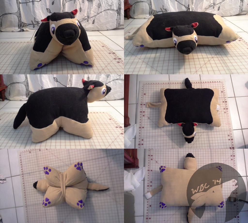 Most recent image: German Shepherd Pillow Commission