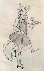 Nash Works at the Diner (FC 2016 Sketch)