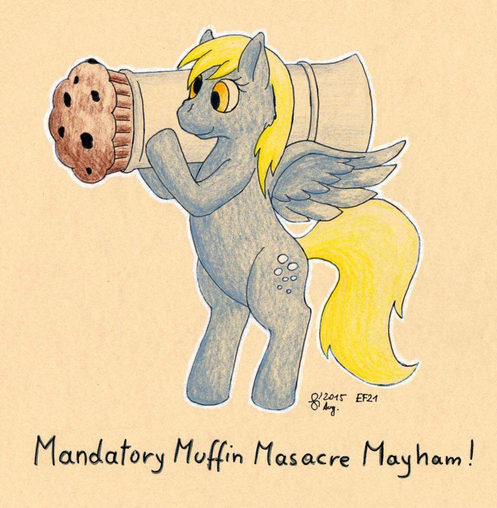 Mandatory Muffin Masacre Mayham Mondays