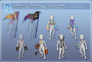 Rescreatu Avatars: Accessories