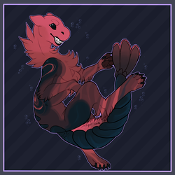 Shellfish Creature [Artfight 2018]