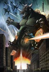 Godzilla vs. Tegon