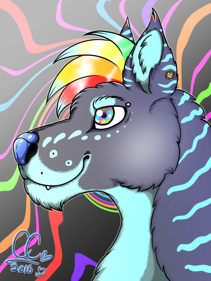 Nytal the Rave Wolf