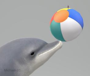 Giant Dolphin ball