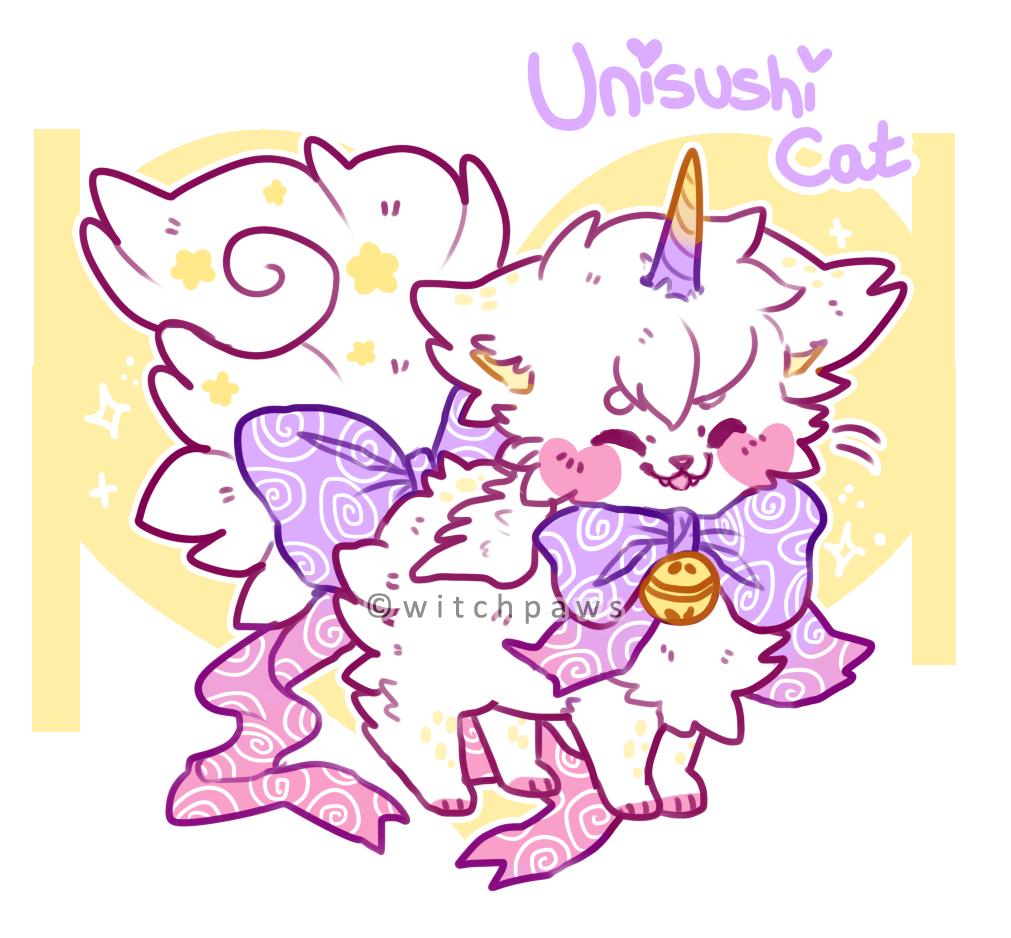 Most recent image: Unisushi Cat!