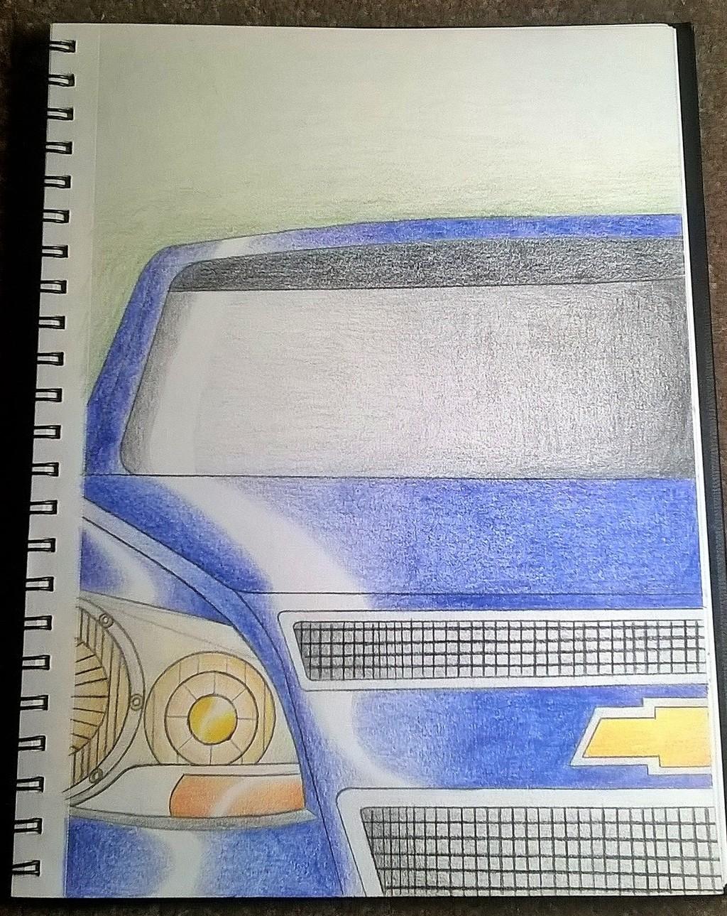 Chevy Malibu Sketch Gift
