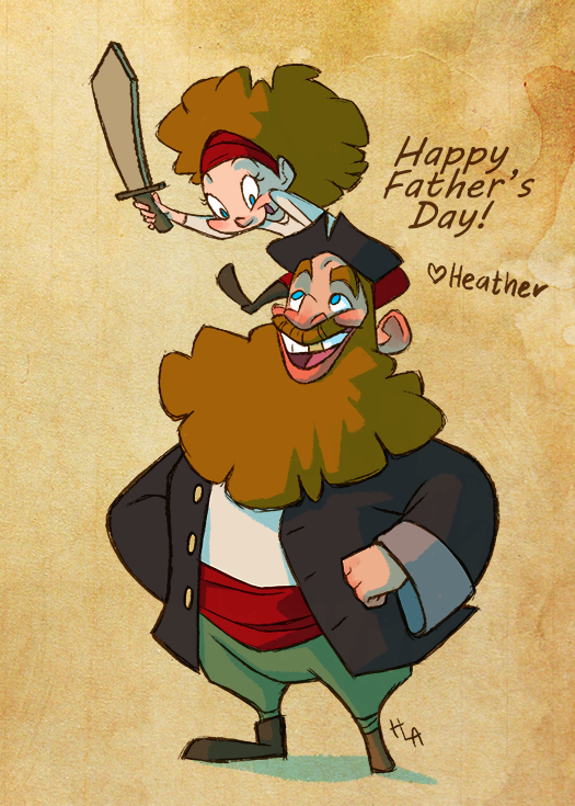 Father's Day Pirate!
