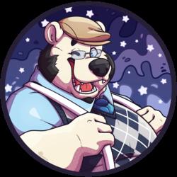 Gin the polar bear icon