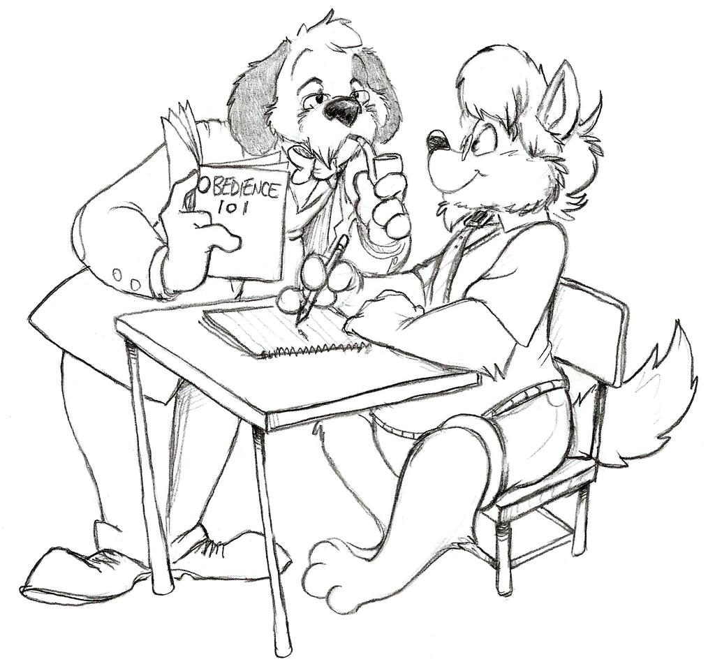 Study Hall by JustJim