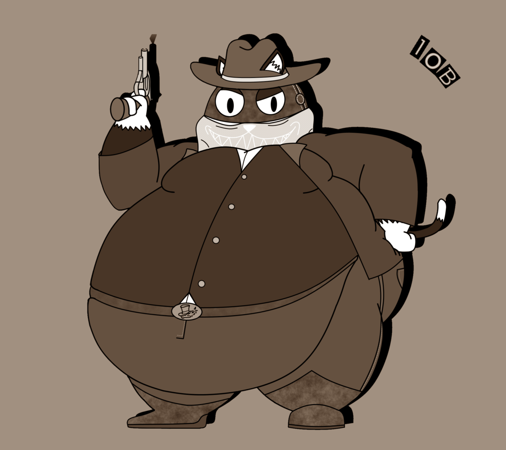 The Big Cat Bandit From The Mementos (ALT)