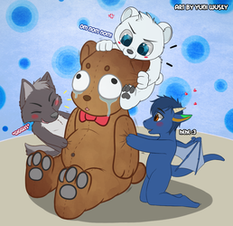 Leave the Poor Bear Alone~!
