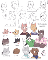 Boyfriendogs sketches