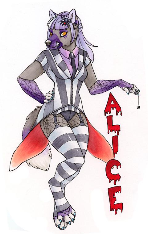 Alice badge