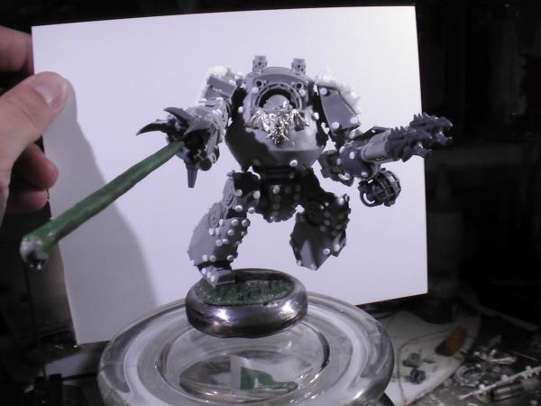 Nightlord Contemptor Dreadnought WIP