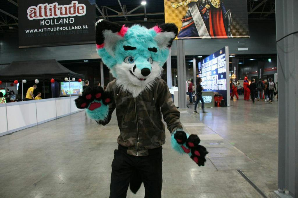 Me at DCC 2018 winter edition