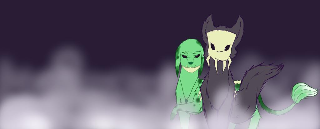 Wolfgang and SkullPup