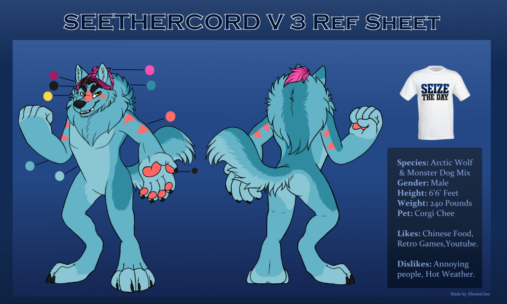 SeetherCord 3.0 Ref Sheet