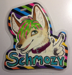 Commission: Schmozy Badge