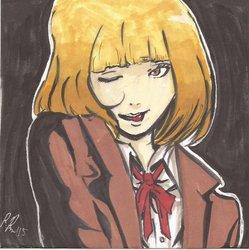 Hana from Prison School