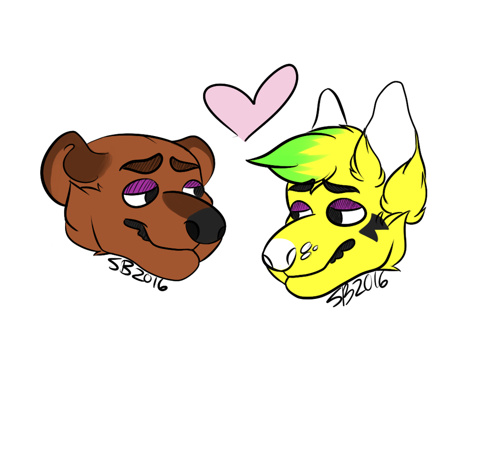 couples icon commission